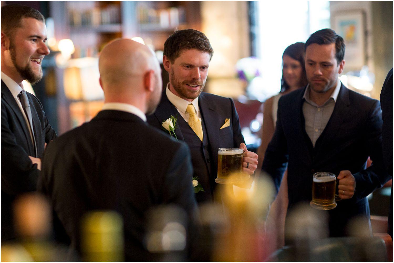 scarfes bar wedding reception at The Rosewood Hotel Holborn