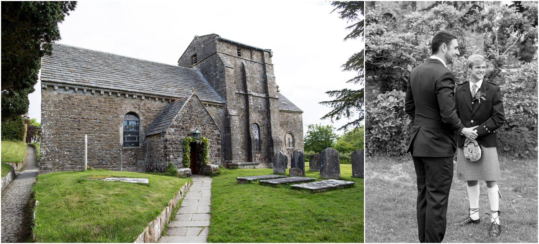 st.nicholas church in studland