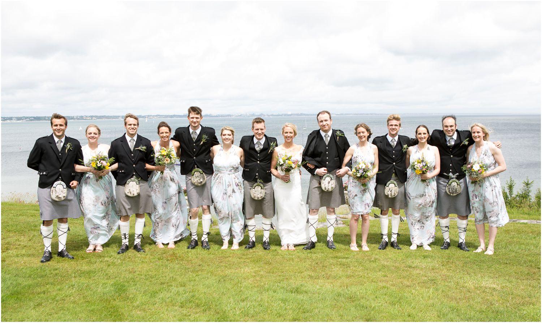 wedding portraits by Harry Warren House Dorset Studland Wedding Photographer