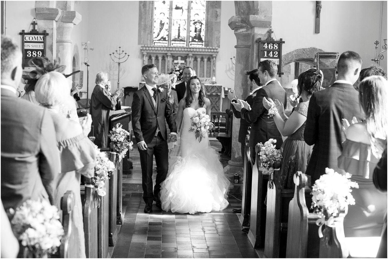 wedding photography at st.johnbaptist church kirdford