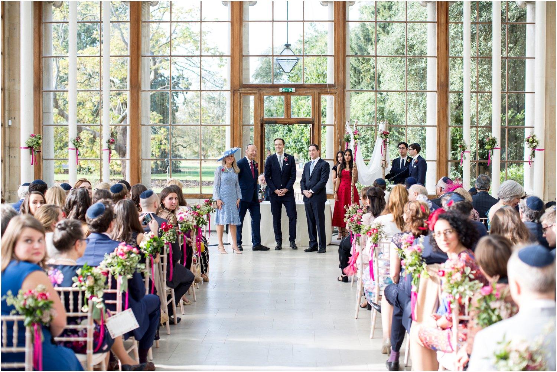 Kew Gardens Nash Conservatory Wedding Photography