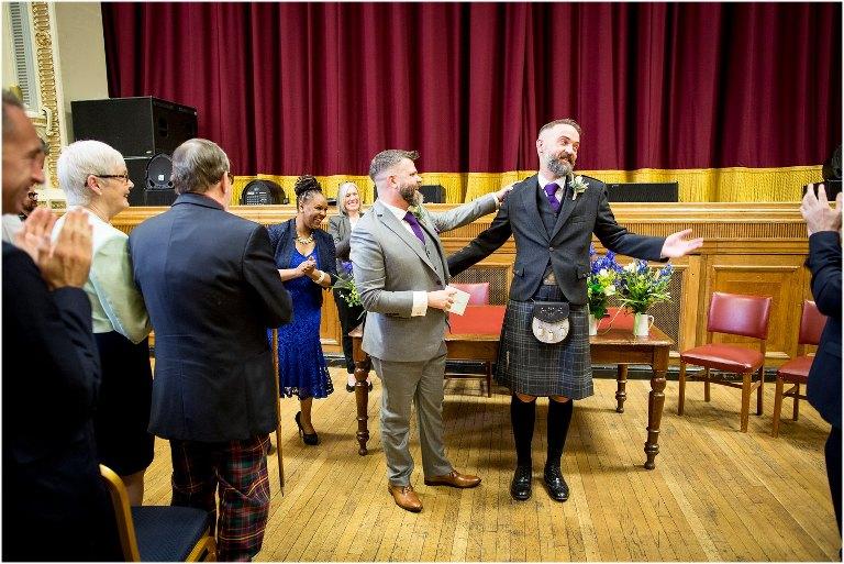 islington assembly rooms wedding photographer
