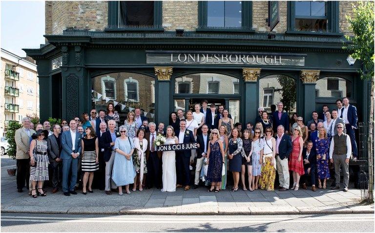 londesborough pub wedding photographer