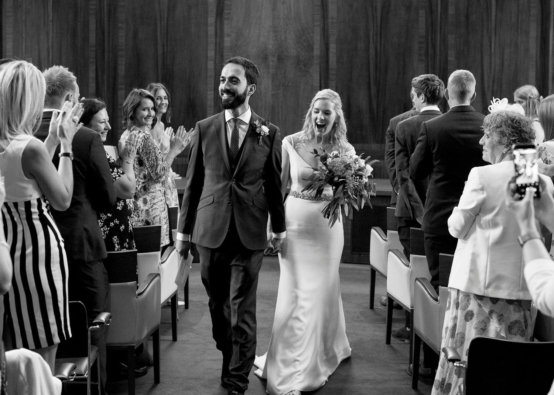 wedding photographer stoke newington town hall