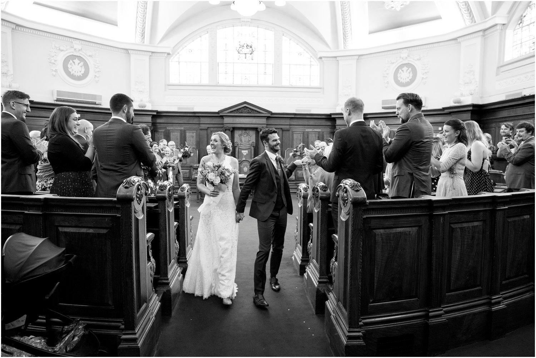 wedding photographer islington town hall