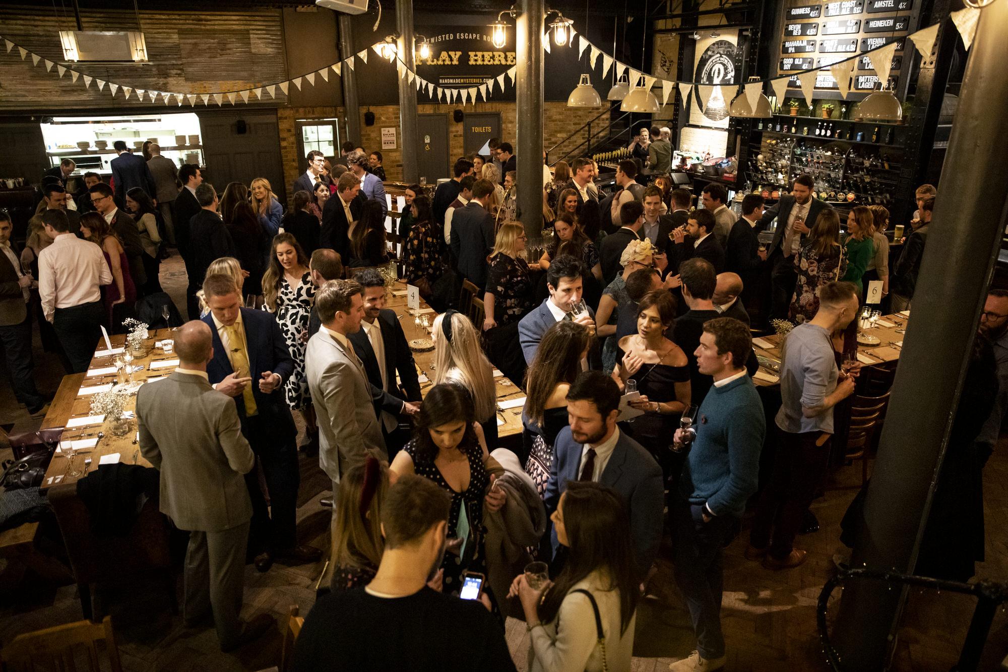 the depot london wedding reception