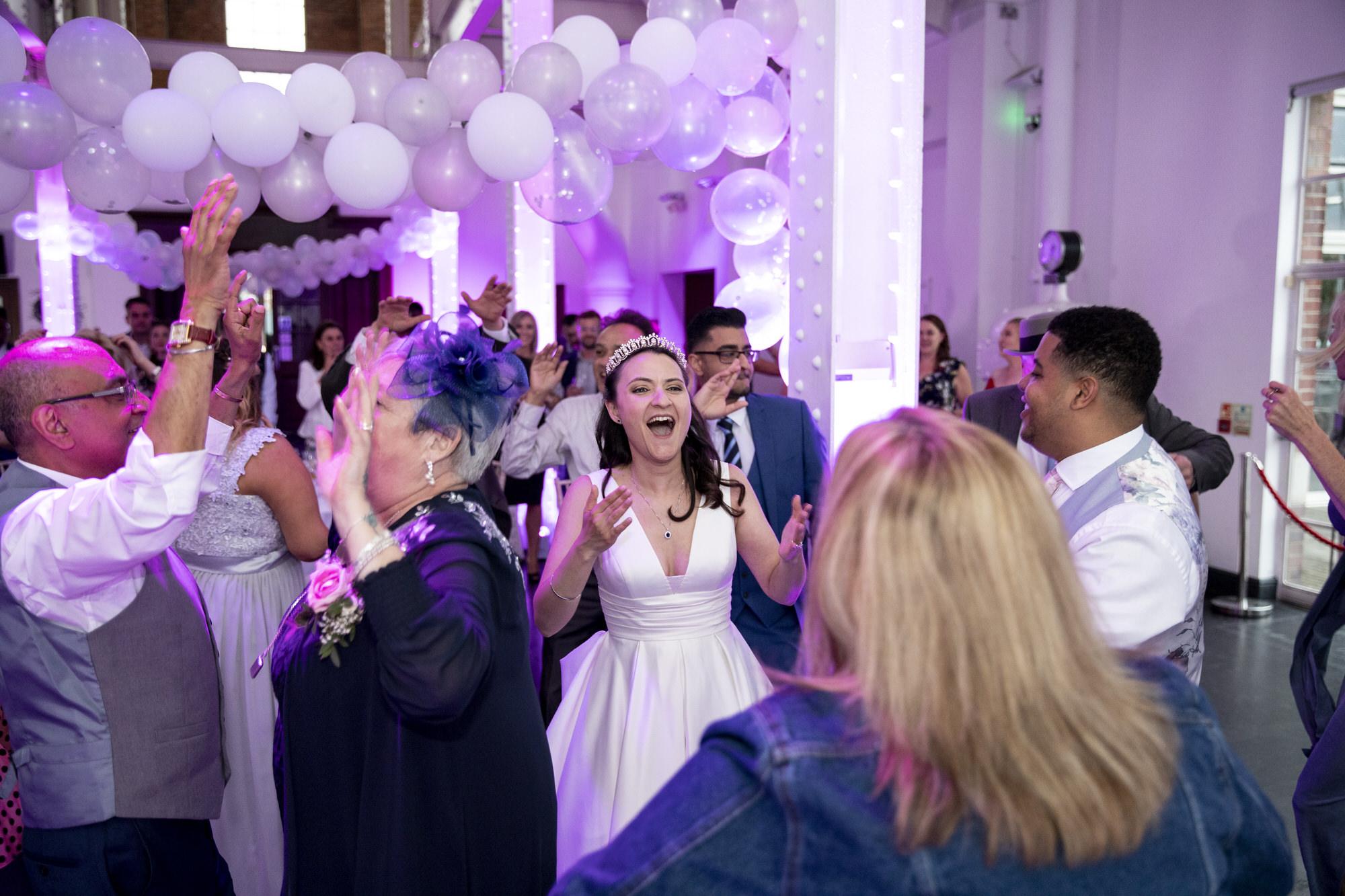 West Reservoir Centre wedding photographer