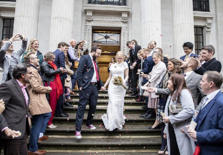 old marylebone town hall documentary wedding photography