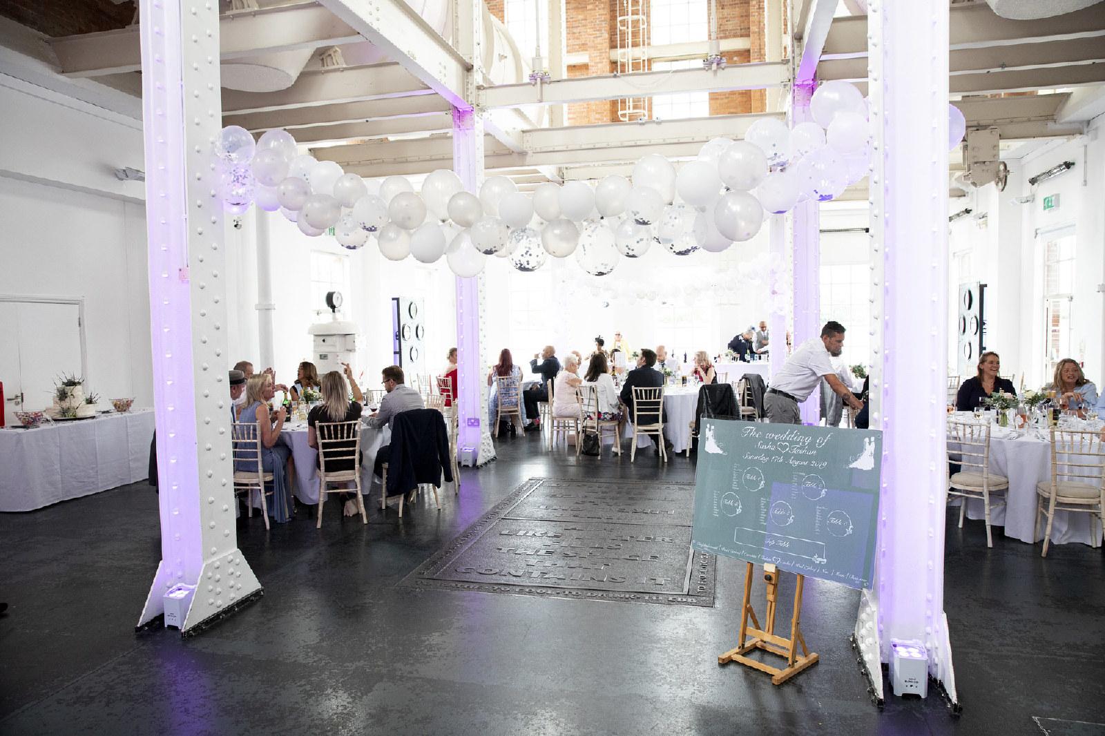West Reservoir Centre Wedding Reception