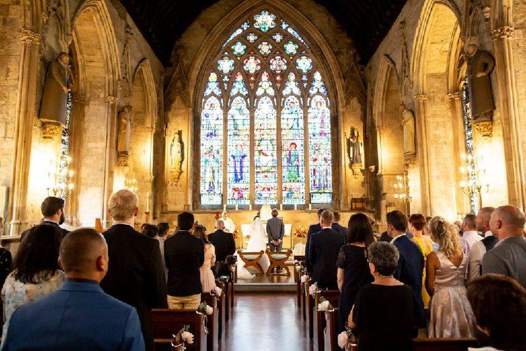 St Etheldredas Church wedding