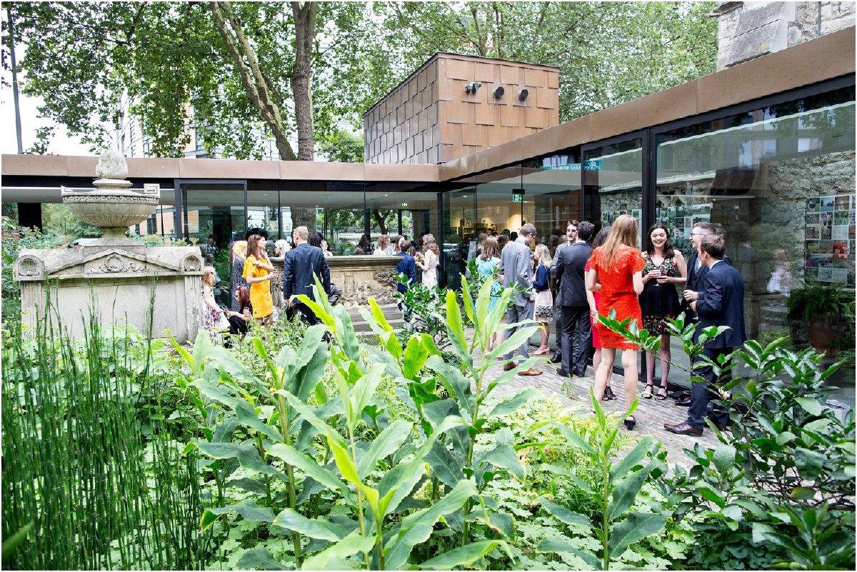 The garden museum london wedding