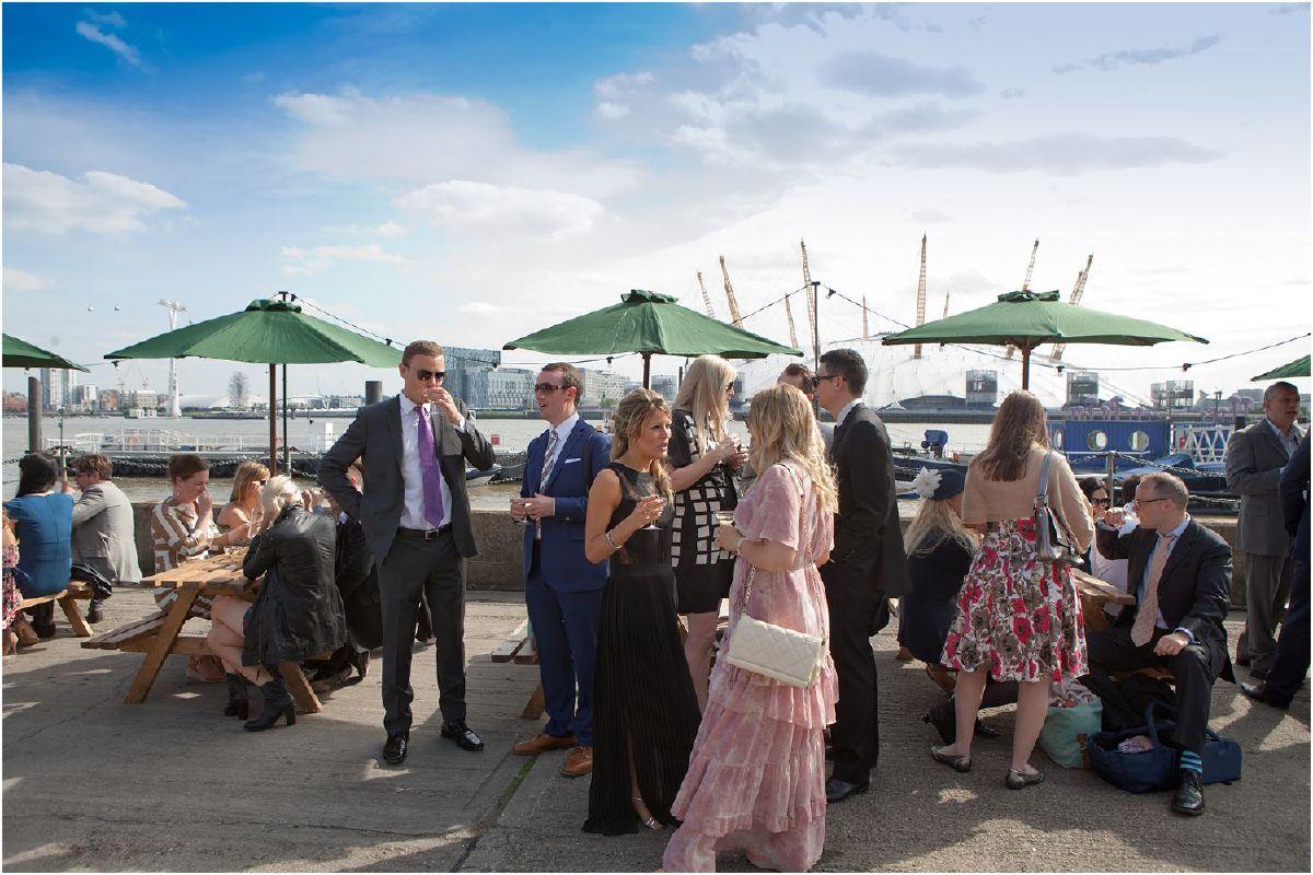 wedding at Trinity Buoy Wharf
