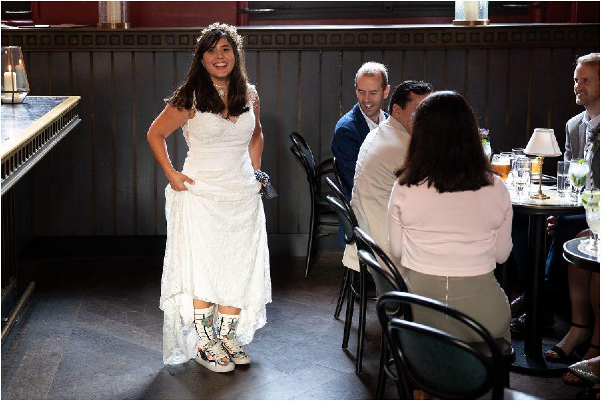 Gilbert Scott Bar wedding reception