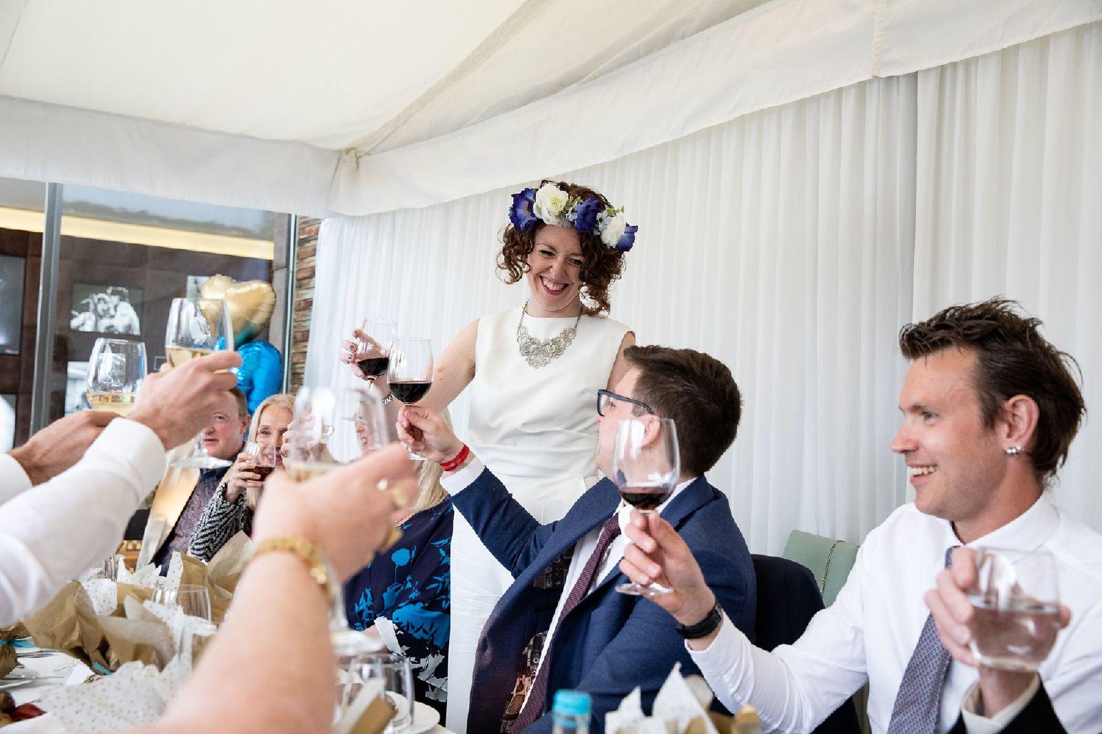 Fredericks Bar wedding reception