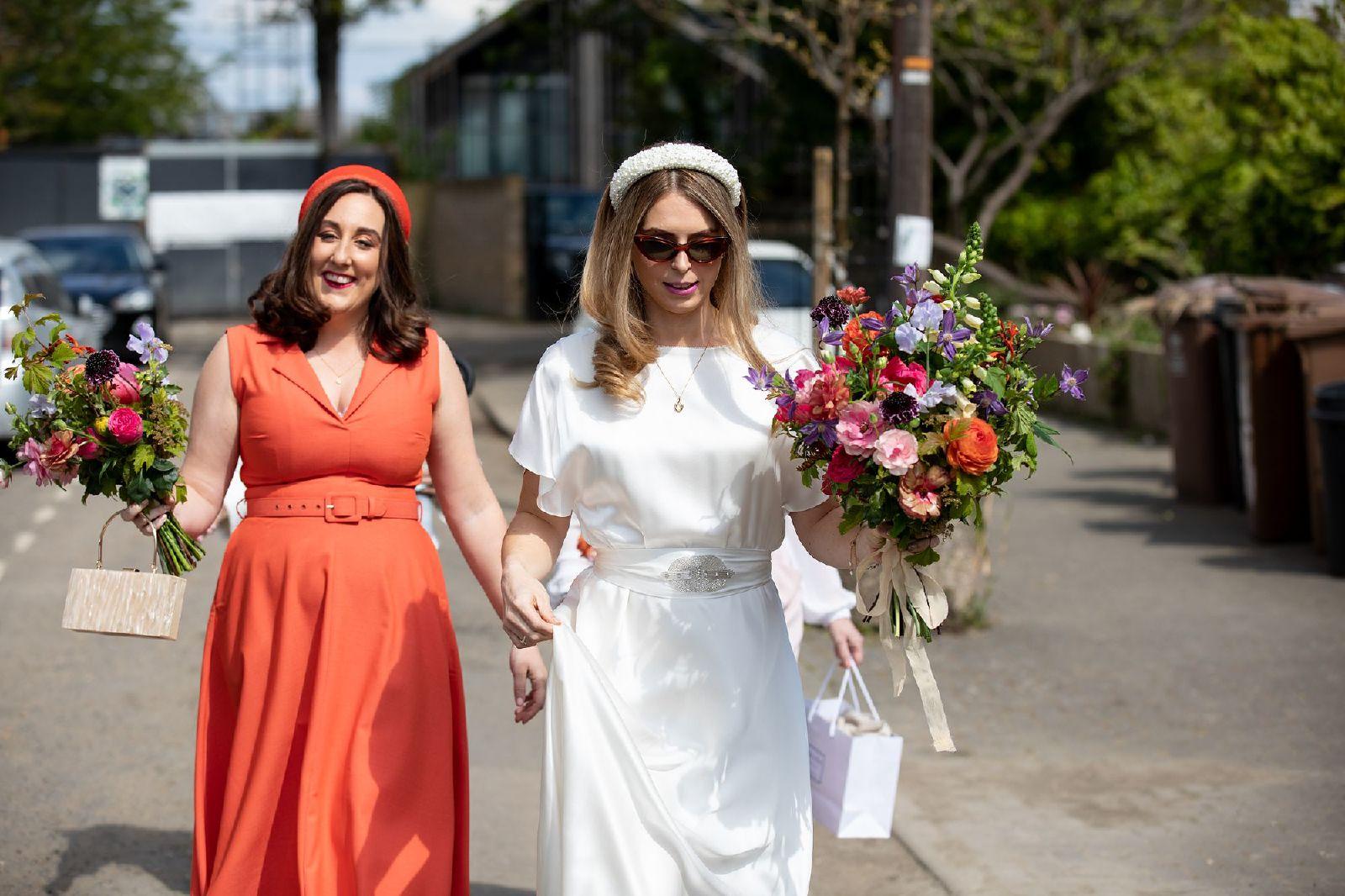 London Fields Hackney Wedding